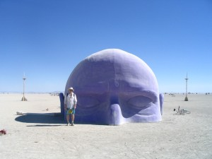 The Dreamer by Pepe Ozan, Burning Man 2005
